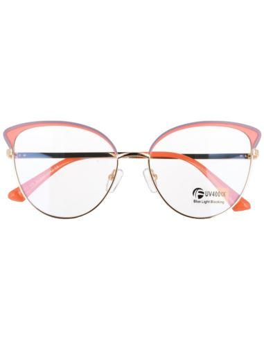 Damskie owalne okulary lustrzane retro revo