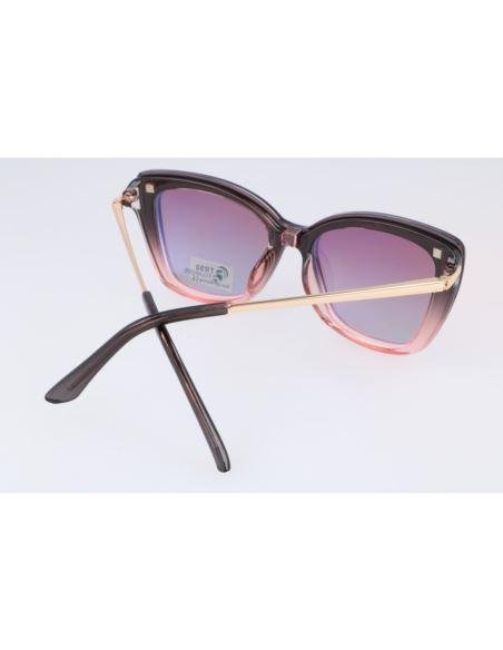 Lustrzane okulary przeciwsłoneczne clubmaster 1435