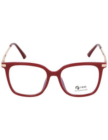Okulary lustrzane CROSSBAR 1601 Czerwony hurt