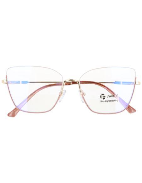 Okulary lustrzane aviator flat glass 1565 Zielony
