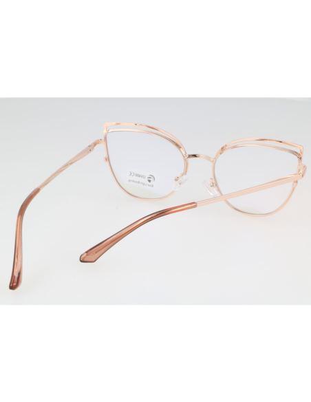 Okrągłe okulary lustrzane 1574 Pomarańczowy