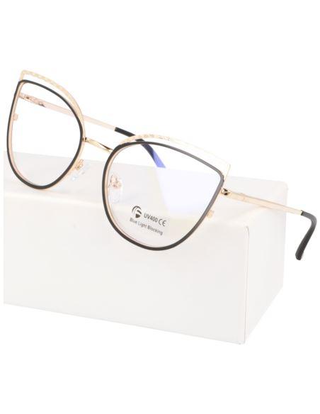 Okulary damskie Vintage pantera 1607-5