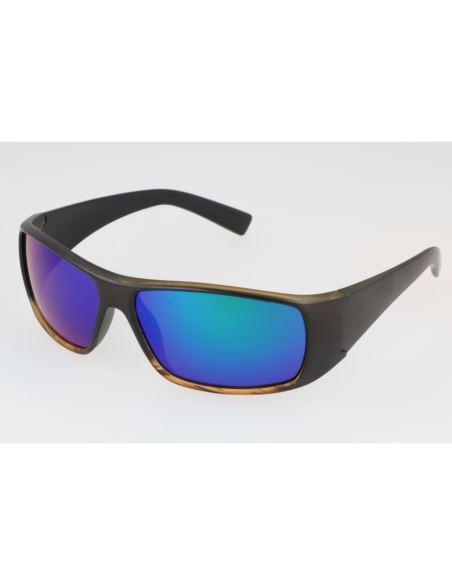 Okulary polaryzacyjne clubmaster Green Panther Mat