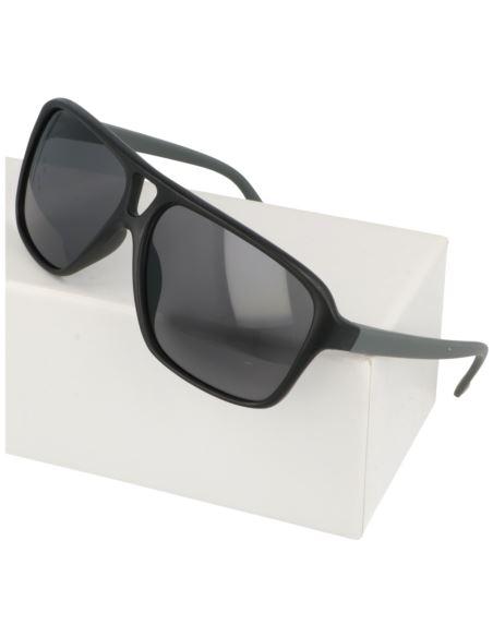 Okrągłe lustrzane okulary orange 1627-2