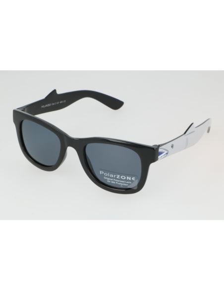 Lustrzane okulary damskie serca orange 1287/5