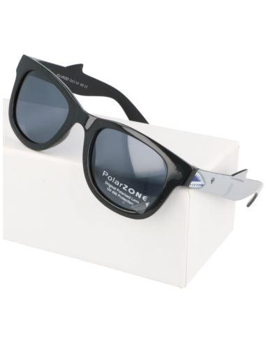 Lustrzane okulary damskie serca violet-green 1287