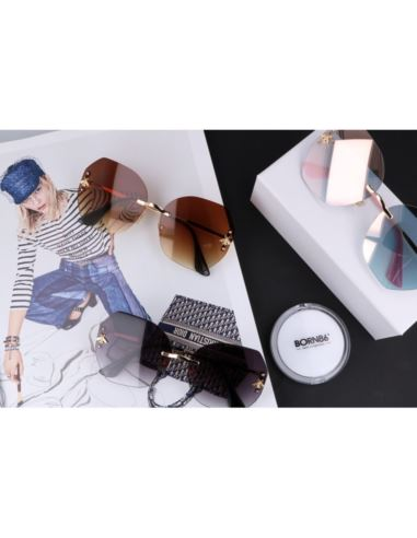 Skórzany portfel męski - brąz
