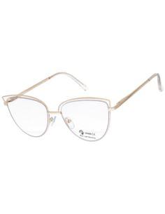 DAMSKIE okulary ZERÓWKI w stylu CLUBMASTEREK