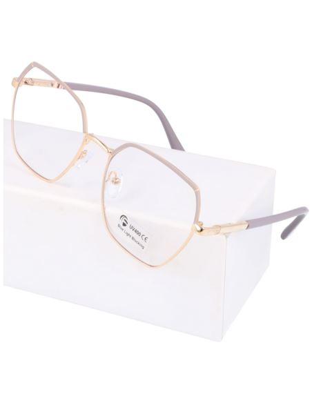 Okulary zerówki damskie kocie oczy 1992