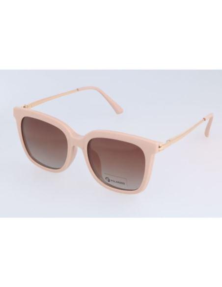Okrągłe OKULARY przeciwsłoneczne LENONKI żółte