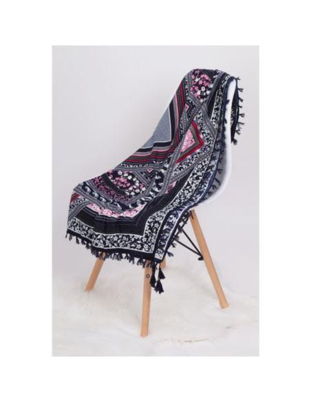 Okulary damskie cat eye oversize gold