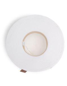 Damska zimowa czapka z pomponem z jenota czerwona