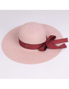 Damska zimowa czapka z pomponem z jenota czarna