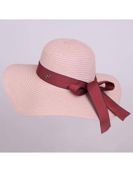 Damska zimowa czapka z pomponem jenot kaszmir