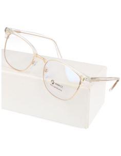 Okrągłe okulary ZERÓWKI z ANTYREFLEKSEM lenonki