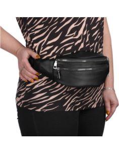Duże okulary zerówki oversize z cyrkoniami