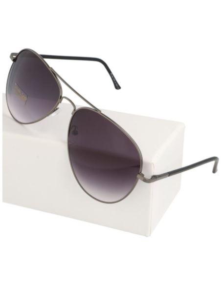 Duże lustrzane okulary damskie oversize